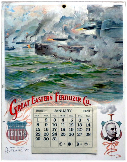 great eastern fertilizer co calender 1890