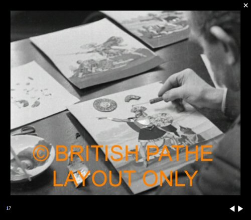 british pathe news - mr webb - tinsel pictures